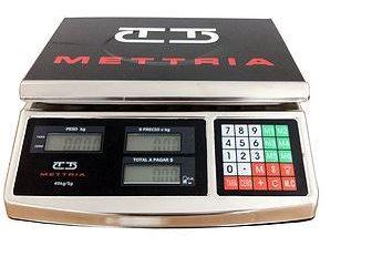Bascula Comercial Mettria 40 kg x 2 g