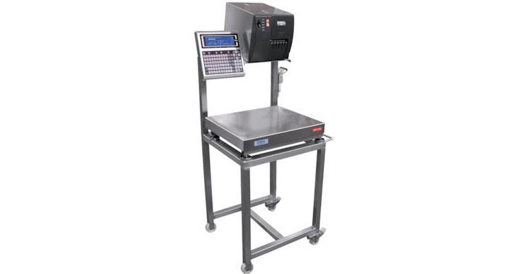 Dibal ML-3000 Etiquetadora manual con plataforma de pesaje