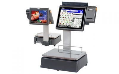 Dibal D-900 con pantalla táctil y display publicitario