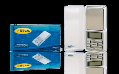Báscula de bolsillo digital noval 500g y 300g